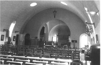 Runwell chapel interior